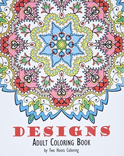 9780692591079: Adult Coloring Book: Designs