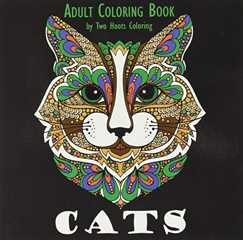 9780692600818: Adult Coloring Book: Cats