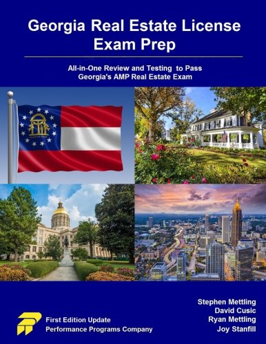 9780692612798: Georgia Real Estate License Exam Prep: All-in-One Review and Testing to Pass Georgia's AMP Real Estate Exam