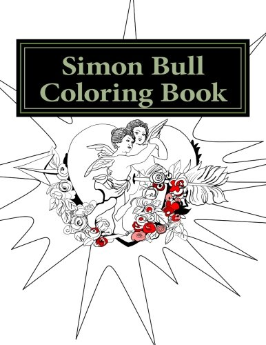 9780692620915: Simon Bull Coloring Book: Hearts (Simon Bull Coloring Books) (Volume 2)