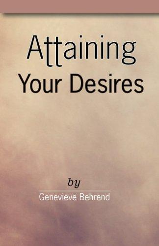 Genevieve Behrend Attaining Desires Abebooks