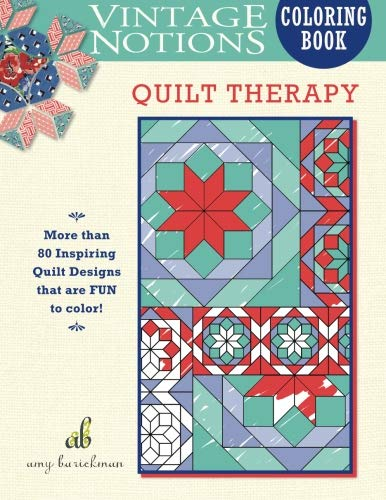 9780692701744: Vintage Notions Coloring Book: Quilt Therapy
