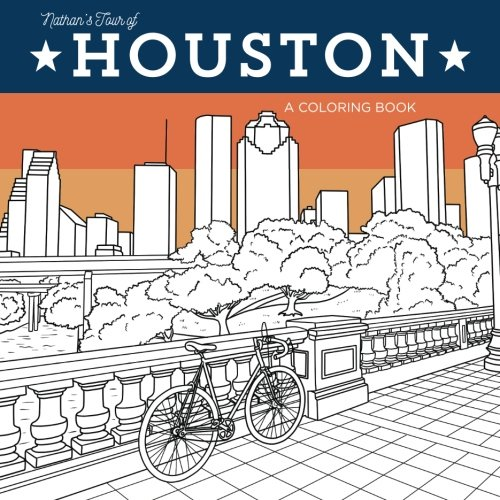 9780692736883: Nathan's Tour of Houston: A Coloring Book