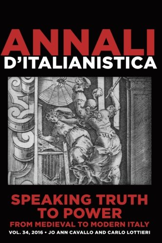 Speaking Truth to Power from Medieval to: Jo Ann Cavallo
