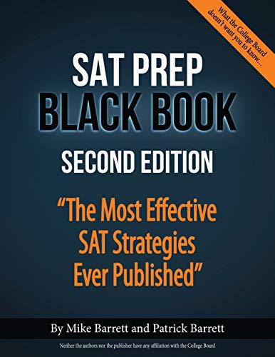 9780692916162: SAT Prep Black Book: The Most Effective SAT Strategies Ever Published