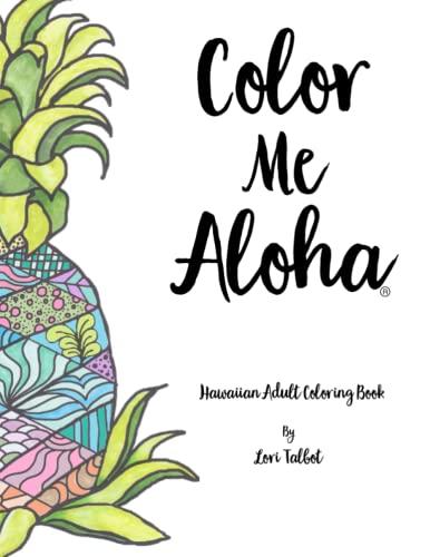 Color Me Aloha A Hawaiian Adult