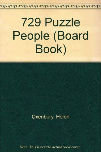 9780694000357: 729 Puzzle People (Board Book)