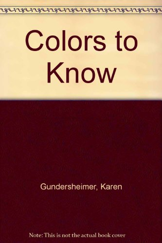9780694000661: Colors to Know