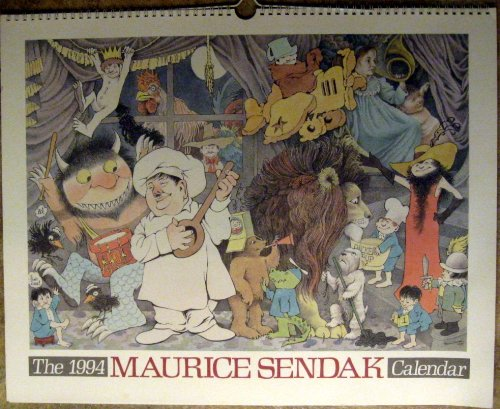 9780694004041: The Maurice Sendak Calendar: 1994