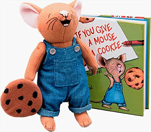 9780694004164: If You Give a Mouse a Cookie Mini Book & Doll