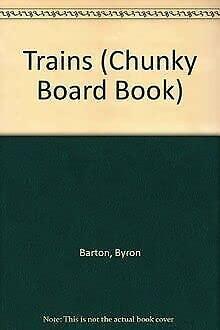9780694006014: Trains (Chunky Board Book)