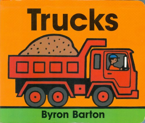 9780694006021: Trucks (Chunky Board Book)