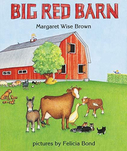 9780694006243: Big Red Barn Board Book