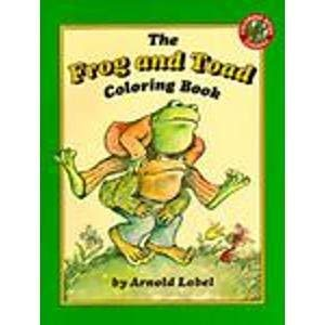 The Frog and Toad Coloring Book: Lobel, Arnold
