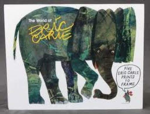 9780694007295: The World of Eric Carle: A Portfolio of Prints