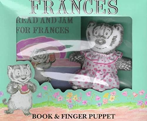 9780694007981: Frances Book and Finger Puppet