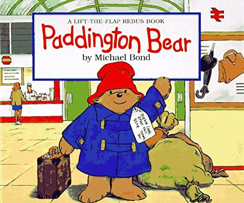 9780694008384: Paddington Bear: A Lift-the-Flap Rebus Book