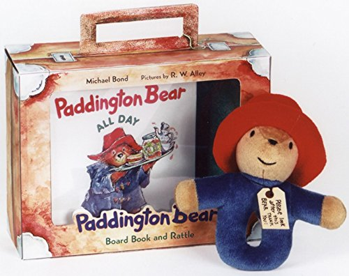 9780694008872: Paddington Bear Board Book and Rattle with Plush