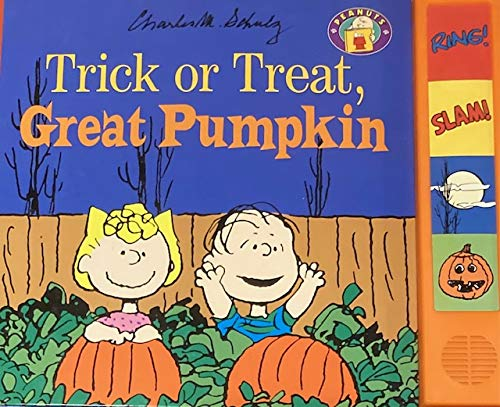 9780694008988: Trick or Treat, Great Pumpkin (Peanuts Interactive Books)