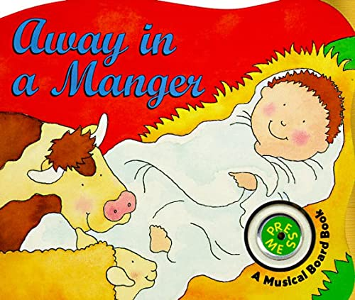 9780694009381: Away in a Manger Board Book