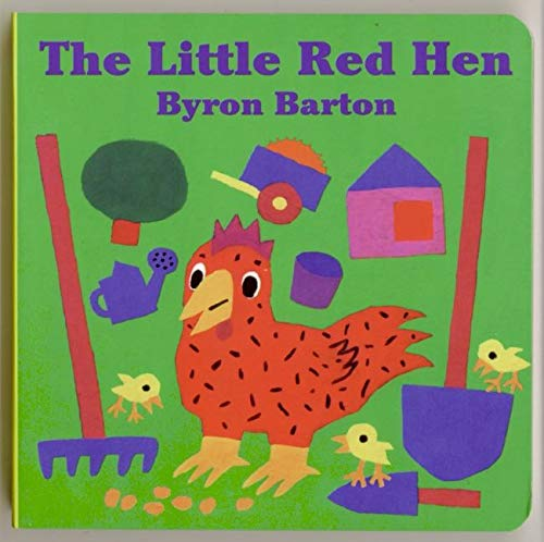 9780694009992: The Little Red Hen Board Book
