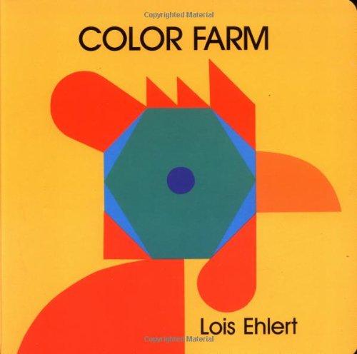 9780694010660: Color Farm Board Book