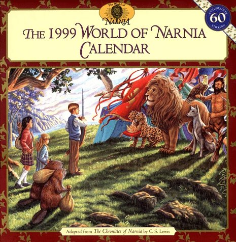 9780694010943: Cal 99 World of Narnia Calendar