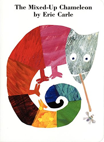 9780694011476: The Mixed-Up Chameleon Board Book