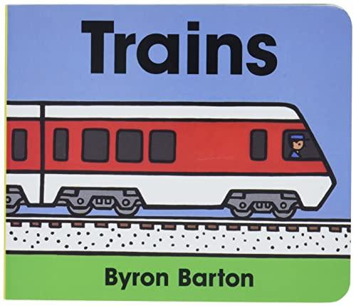 9780694011674: Trains Board Book