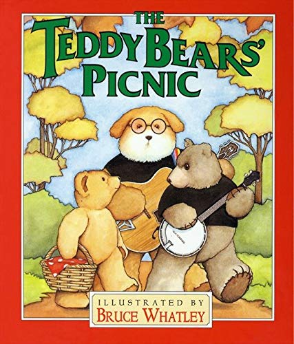 9780694011827: The Teddy Bears' Picnic Board Book