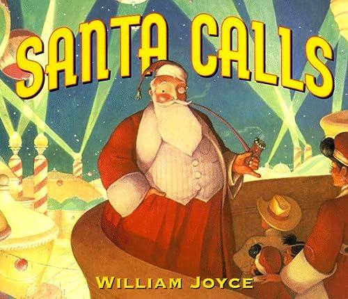 9780694012121: Santa Calls Board Book