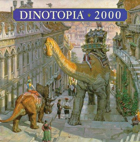 9780694012725: Dinotopia 2000 Calendar