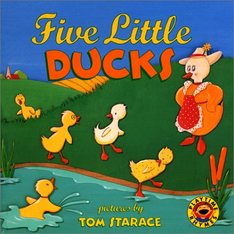Five Little Ducks (Playtime Rhymes): Public Domain