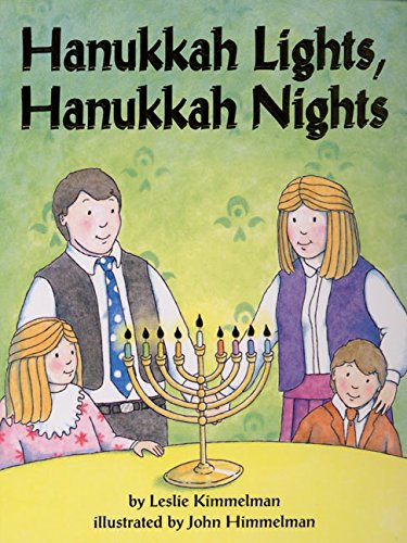 9780694014378: Hanukkah Lights, Hanukkah Nights Board Book
