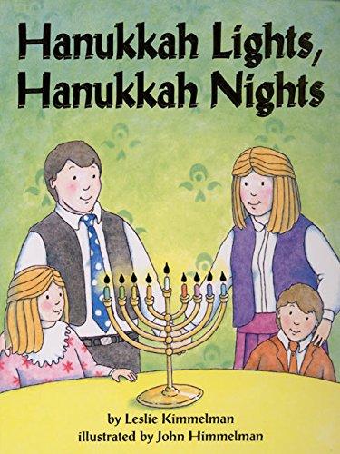 Hanukkah Lights, Hanukkah Nights Board Book: Kimmelman, Leslie