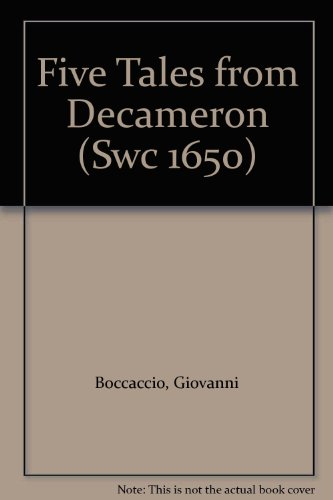9780694503407: Five Tales from Decameron (Swc 1650)