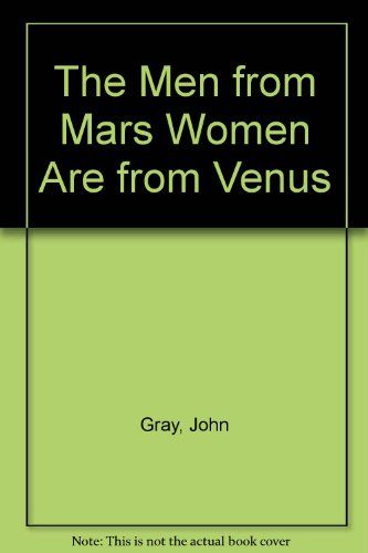9780694516322: The Men from Mars Women Are from Venus