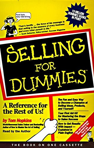 9780694517091: Selling for Dummies (For Dummies (Business & Personal Finance))