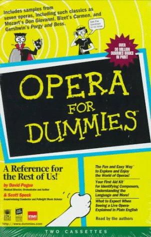 9780694519095: Opera for Dummies