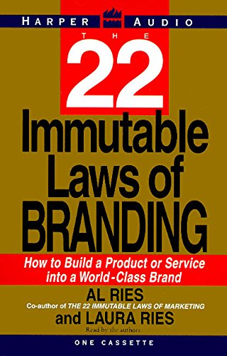9780694520473: The 22 Immutable Laws of Branding: How to Build a Product or Service into a World-Class Brand