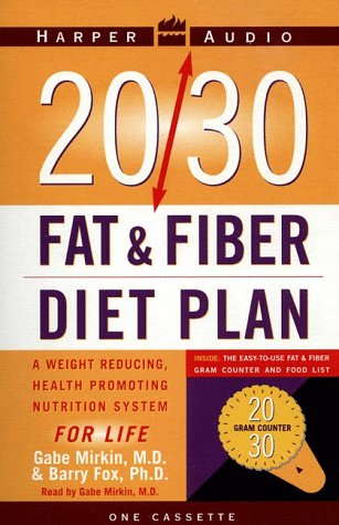 9780694521029: 20/30 Fat and Fiber Diet Plan