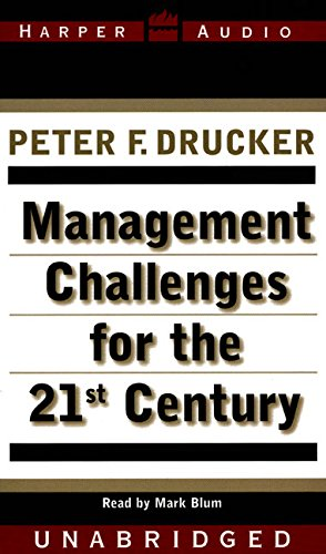 9780694522125: Management Challenges for the 21St Century