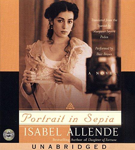 9780694526543: Portrait in Sepia CD: A Novel