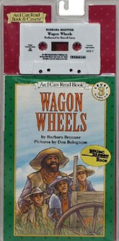 9780694700011: Wagon Wheels Book and Tape [With Book] (I Can Read Book & Cassette)