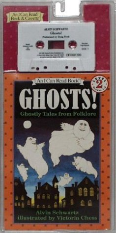 9780694700264: Ghosts! Book and Tape: Ghostly Tales from Folklore (I Can Read Book 2)