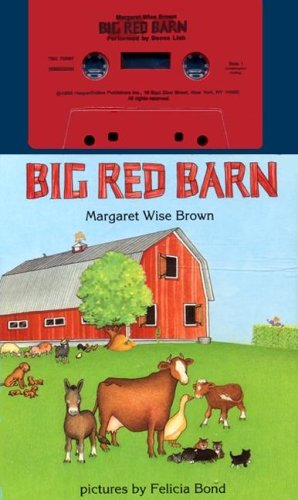 9780694700974: Big Red Barn Board Book and Tape with Book(s) (My First Book and Tape)