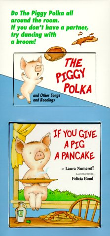 9780694701001: If You Give a Pig a Pancake Mini Book and Tape