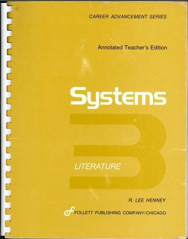 9780695220716: Systems 3 literature (Career advancement series)