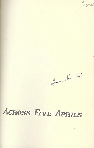 9780695401009: Across Five Aprils