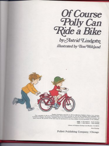 9780695403492: Of Course Polly Can Ride a Bike